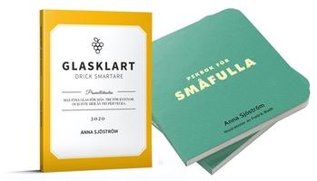 Glasklart. drick smartare och Pekbok för småfulla av Anna Sjöström